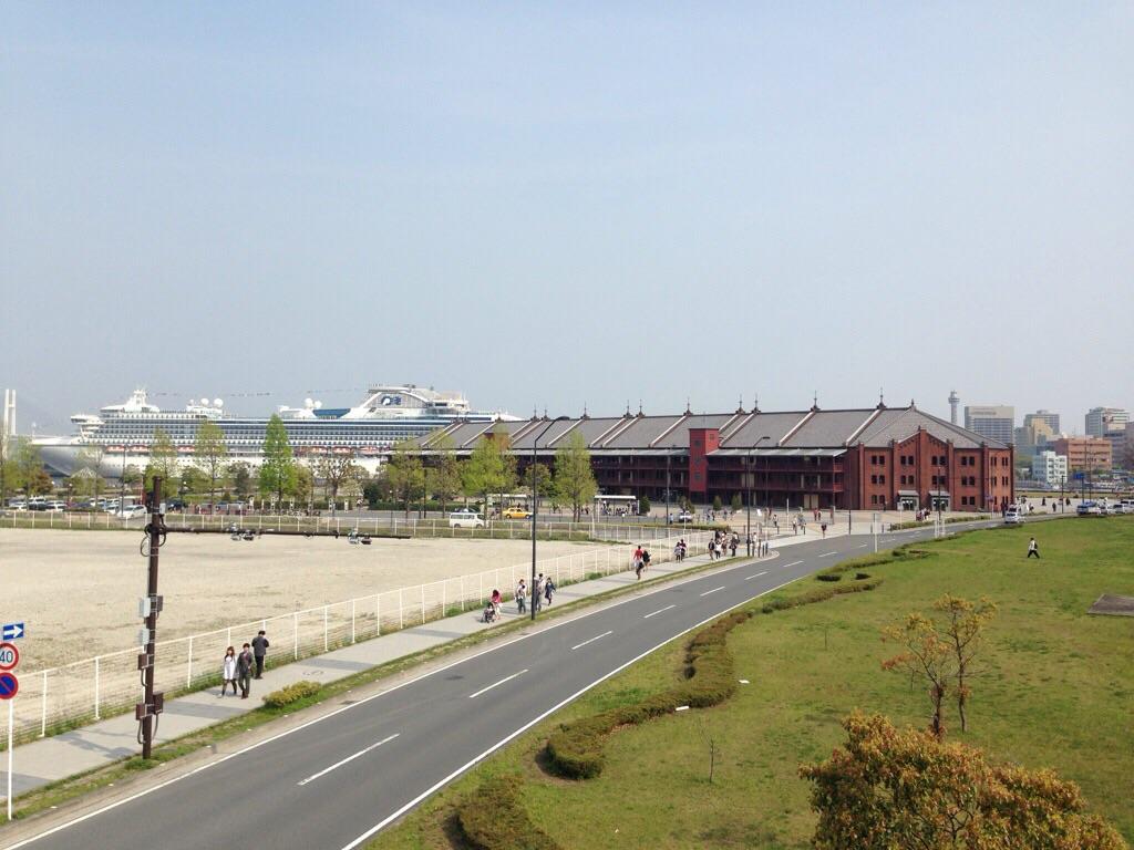 横浜赤れんが倉庫です。